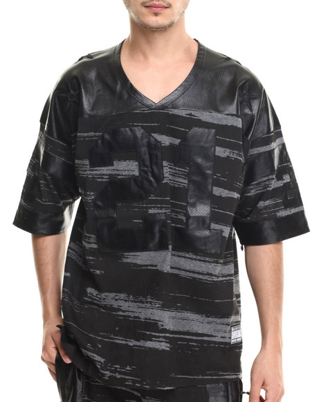 Rocksmith - Men Black Jupiter Football Jersey