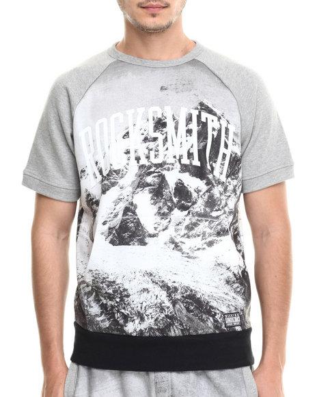 Rocksmith - Men Black Everst S/S Sweatshirt