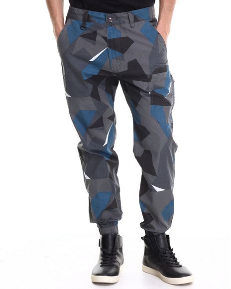Rocksmith - Men Camo Geometry Moutain Jogger