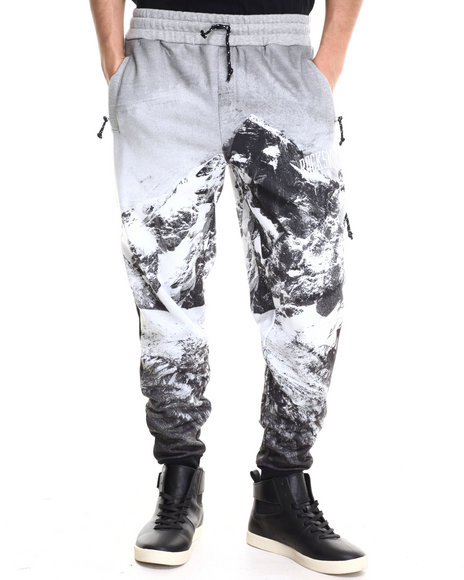 Rocksmith - Men Black Everest Slim Sweats