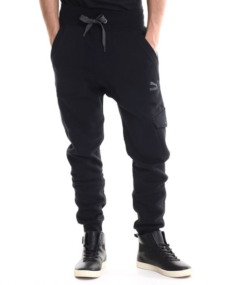 Black Cargos for Men