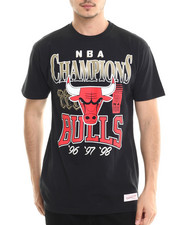 Men - Chicago Bulls 96-98 CHamps S/S Tee
