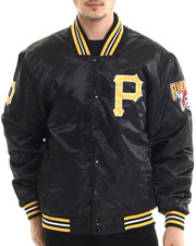 NBA, MLB, NFL Gear - Pittsburgh Pirates Team Matte Satin Jacket