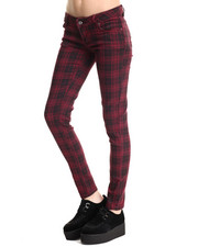 Fashion Lab - Skinny Plaid Pant