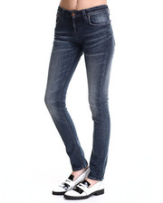 Nudie Jeans - Navy Lightening Skinny Sam Jeans