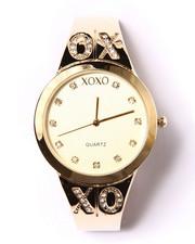 XOXO - XOXO Bling Logo Metal Watch