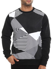 Men - POS Geo Print Sweatshirt