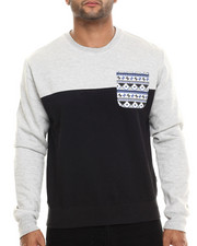 Men - Aztec Pocket Trim Sweatshirt