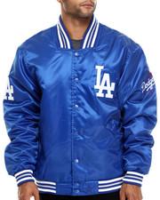 NBA, MLB, NFL Gear - Los Angeles Dodgers Team Matte Satin Jacket