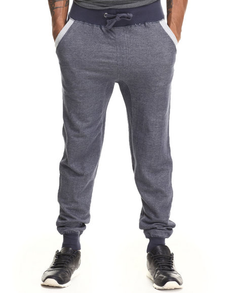 Buyers Picks - Men Navy French Terry Jogger W/ Back Pocket