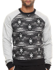 Men - Military Raglan Sweatshirt