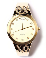 Women - XOXO Bling Logo Metal Watch
