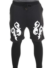 Buyers Picks - Printed Lightweight Double - Layer Fleece Short and Pant