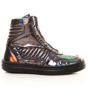 Shoes - Billie 1- Metallic Zip Hi-top