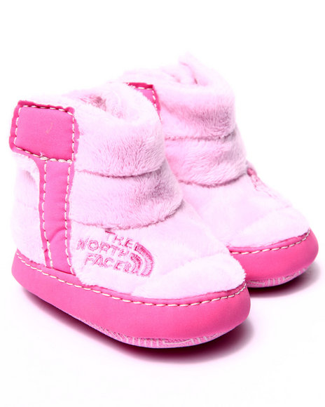 The North Face - Girls Pink Fleece Bootie (Infant)