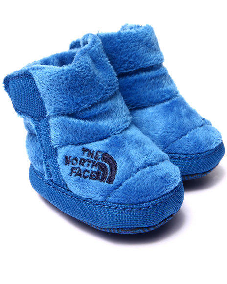 The North Face - Boys Blue Fleece Bootie (Infant)