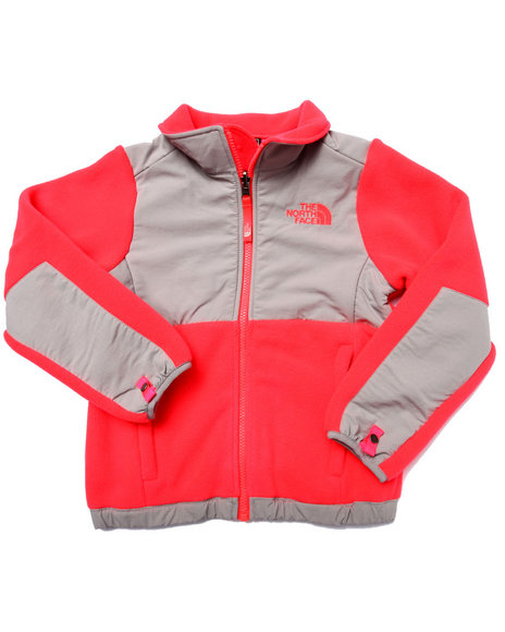The North Face - Girls Red Denali Jacket (5-18)