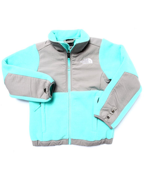 The North Face - Girls Teal The Denali Jacket (5-18)