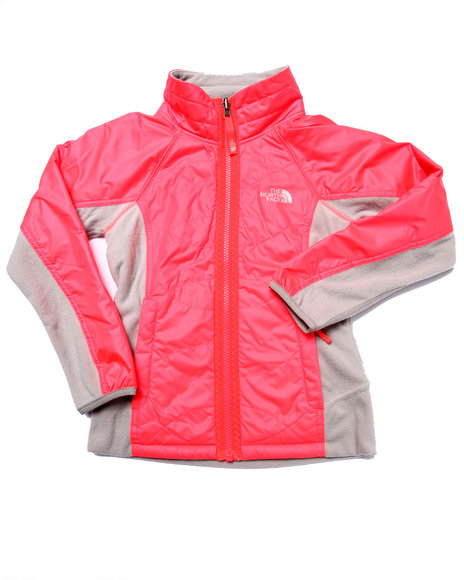 The North Face - Girls Red Reversible Madison Jacket (5-18)
