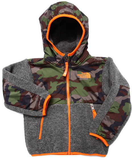 The North Face - Boys Camo Denali Hoodie (2T-4T)