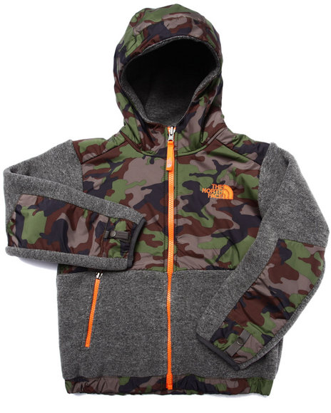The North Face - Boys Camo Denali Hoodie (5-20)