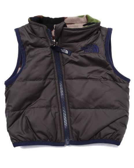 The North Face - Boys Camo Reversible Glacier Vest (Infant)