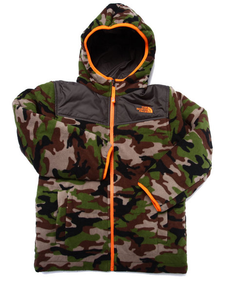 The North Face - Boys Camo Reversible True Or False Jacket (5-20)