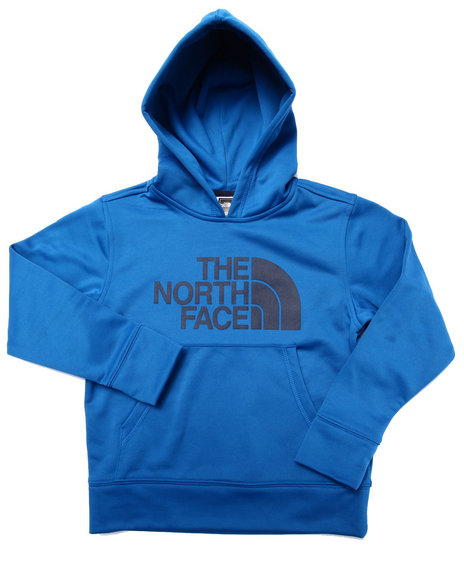 The North Face - Boys Blue Logo Surgent Pullover Hoodie (5-20)