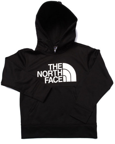 The North Face - Boys Black Logo Surgent Pullover Hoodie (5-20)