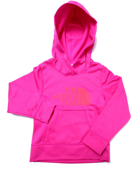 The North Face - Girls Pink Surgent Pullover Hoodie (5-18)