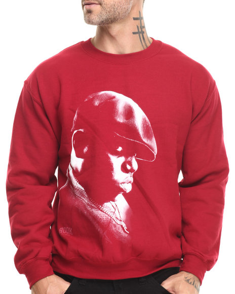 Rook - Men Red Big Crewneck Sweatshirt