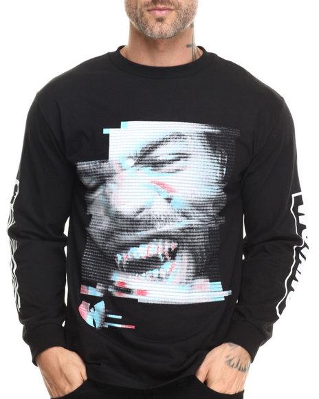 Wu-Tang Limited - Men Black Method Grills L/S T-Shirt