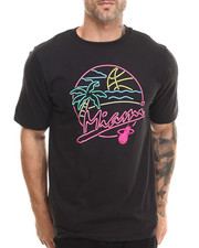 Adidas - Miami Heat Beach Prty Tee (Custom fit)