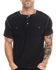 Buyers Picks - S/S Henley Slub Tee