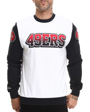 Mitchell & Ness - San Francisco 49ers NFL Stop On A Dime Crewneck Sweatshirt