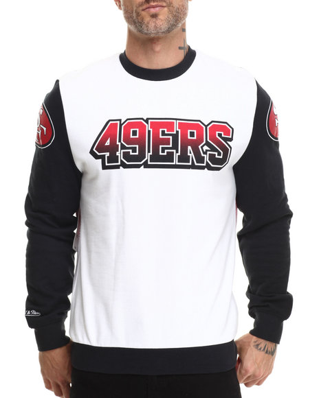 Mitchell & Ness - Men Multi San Francisco 49Ers Nfl Stop On A Dime Crewneck Sweatshirt