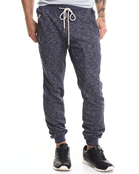 Buyers Picks - Men Navy French Terry Jogger