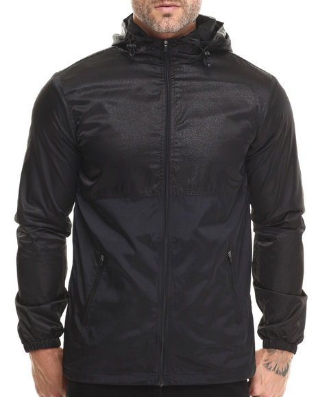 Rook - Men Black Cyrus Windbreaker Jacket