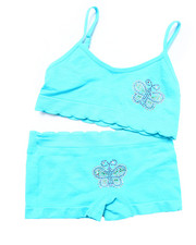 Girls - Teen Seamless Butterfly Bra/Short Set