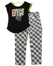 Girls - 2 PC CHECKERED SET (4-6X)