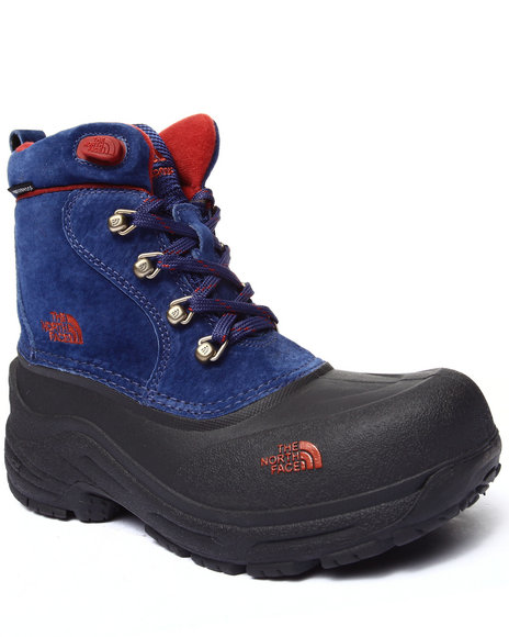 The North Face - Boys Blue Chilkat Lace Boot