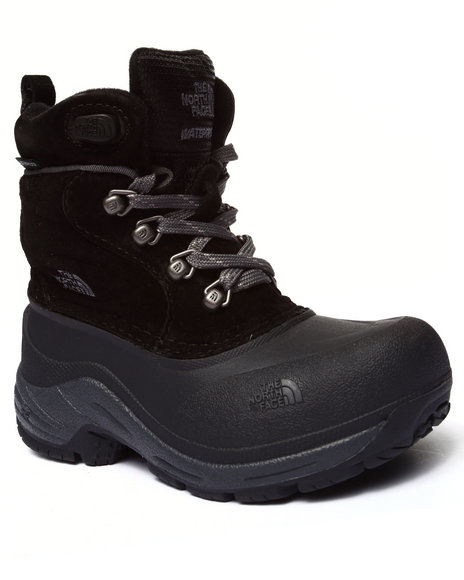 The North Face - Boys Black Chilkat Lace Boot
