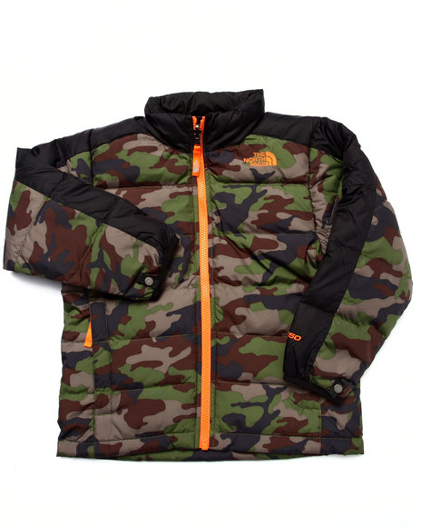 The North Face - Boys Camo Aconcagua Jacket (5-20)