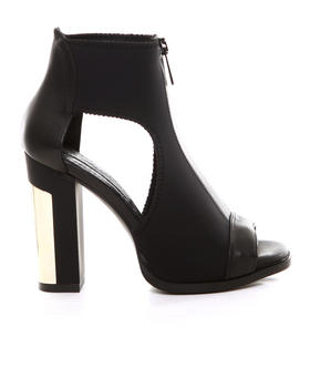 -FEATURES- - MOLLIE CUT OUT BOOTIE