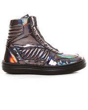 Shoes - Billie 1- Metallic Zip Hi-top