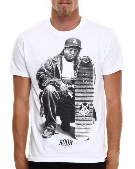 Rook - Men White Eazy-E T-Shirt