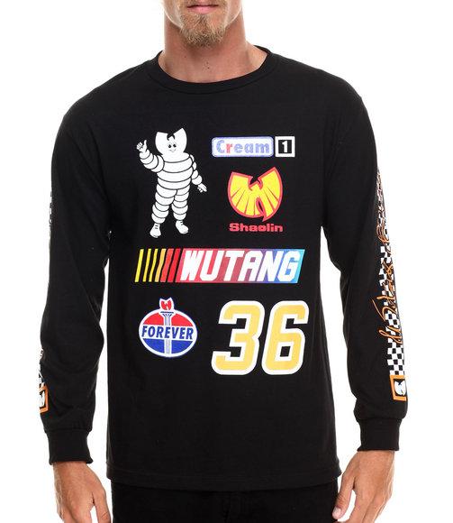 Wu-Tang Limited - Men Black Speedway L/S T-Shirt