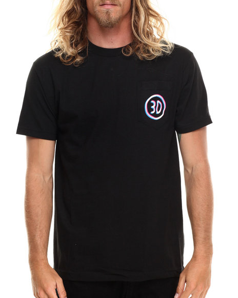 Buyers Picks - Men Black Off Pocket Tee - $11.99