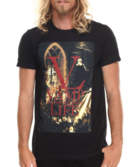 Vampire Life - Men Black Vamp Life T-Shirt