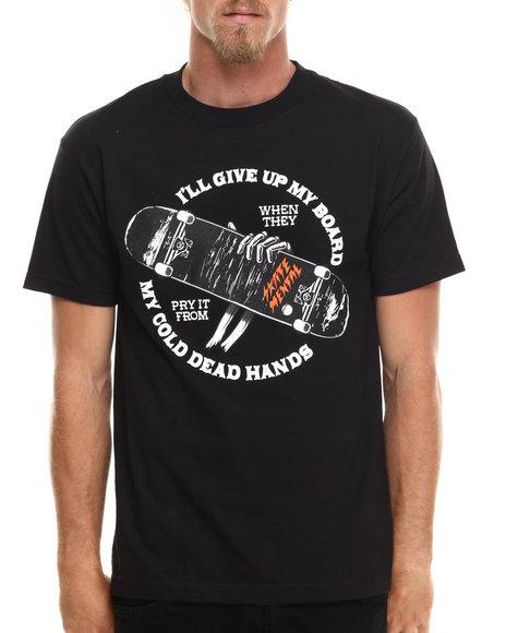 Skate Mental - Men Black Cold Dead Hands Tee